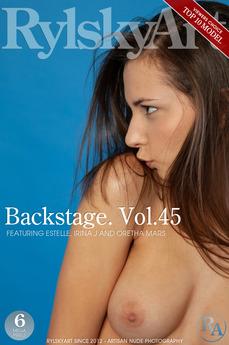 Backstage. Vol.45
