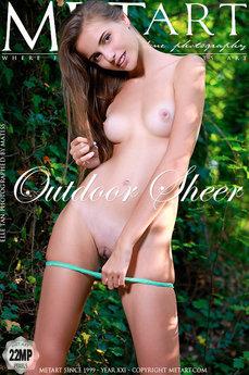 Outdoor Sheer