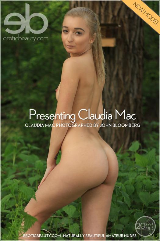 Presenting Claudia Mac featuring Claudia Mac by John Bloomberg