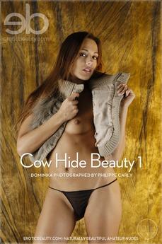 Cow Hide Beauty 1