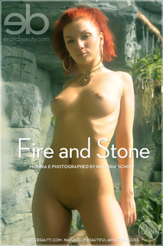 Erotic Beauty Fire and Stone Monika E