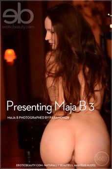Presenting Maja B 3