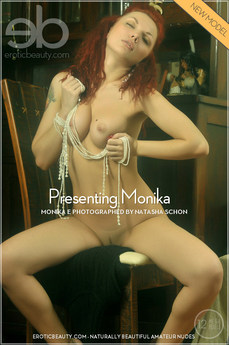 Erotic Beauty Presenting Monika Monika E