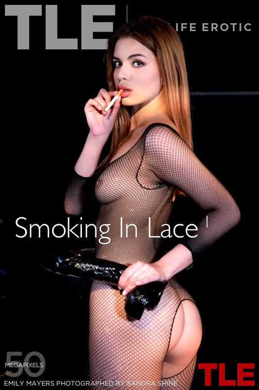 Smoking In Lace 1