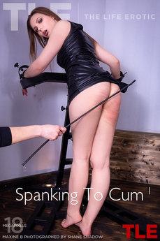 Spanking To Cum 1